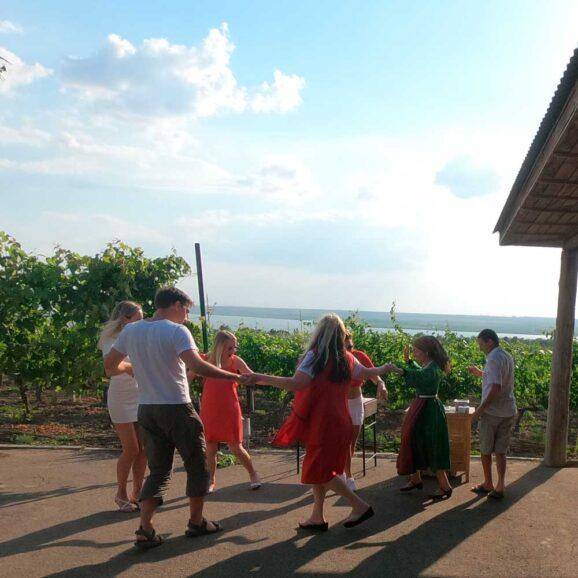 We will walk around Bolgrad, visit a winery and prepare a traditional dinner